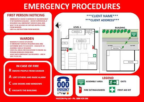 emergency procedures in the workplace template exit plans quotes quotesgram