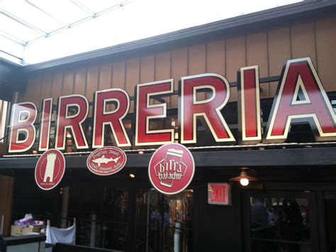 hot video eataly nyc welcome to birreria the hot new beer garden on top of