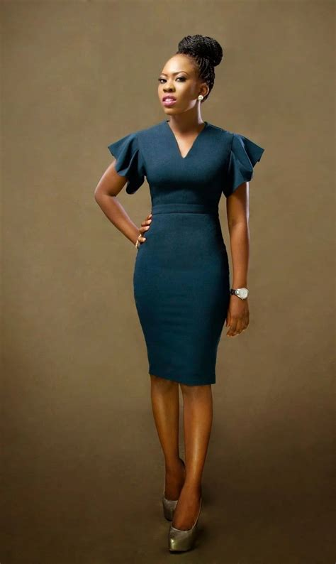 coporate ankara styles for women corporate gowns for office best styles naija ng