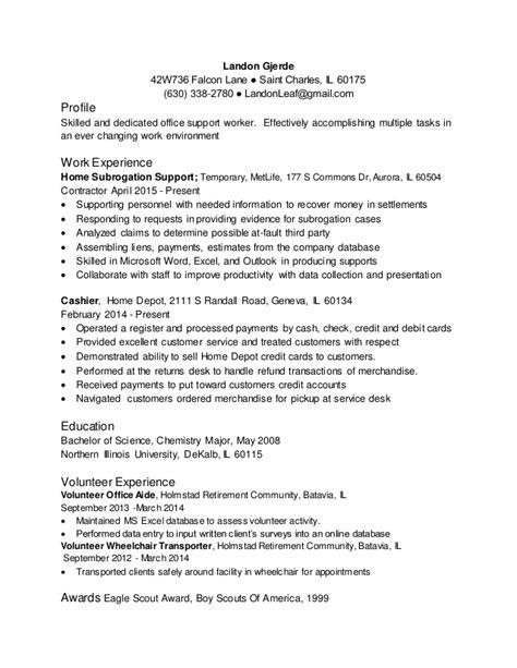 eagle scout award on resume