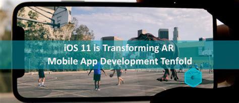 Ios App Development Mar ar mobile app development is getting transformation