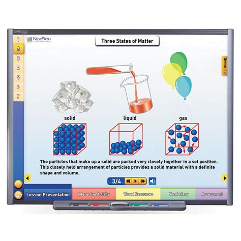 matter site physical science multimedia lessons for interactive
