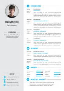 Resume Word Templates Premium Bewerbungsmuster 6 Lebenslaufdesigns De