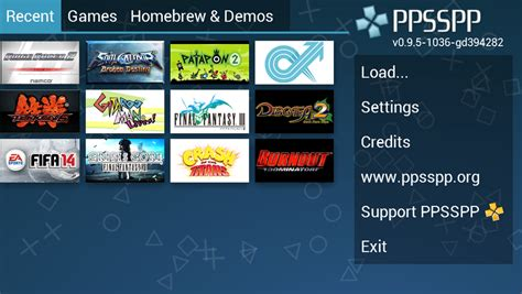 ppsspp android ppsspp 1 0 el mejor emulador de psp para android