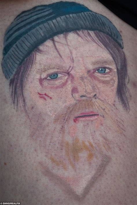 tattoo fixers ian beale woman gets unbeale ievable eastenders tattoo real fix