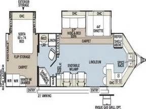 Travel Trailers Floor Plans Planning Amp Ideas Travel Trailer Floor Plans Light Travel