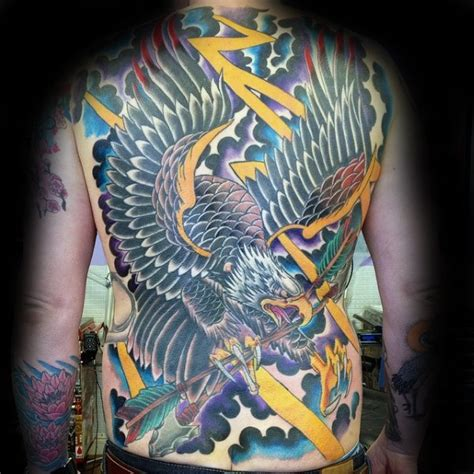 tattoo old school back 50 eagle back tattoo designs for men flying bird ink ideas