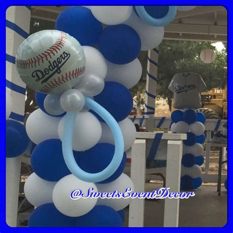 Dodger Decorations by Dodgers Baseball Baby Shower Ideas Photo 4 Of 11 Catch