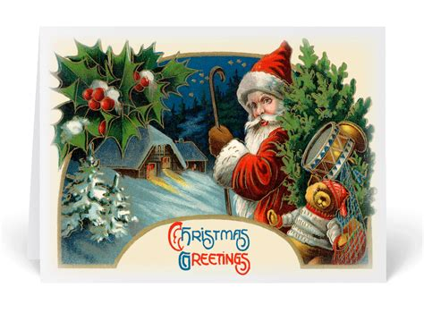 old fashioned christmas cards doliquid