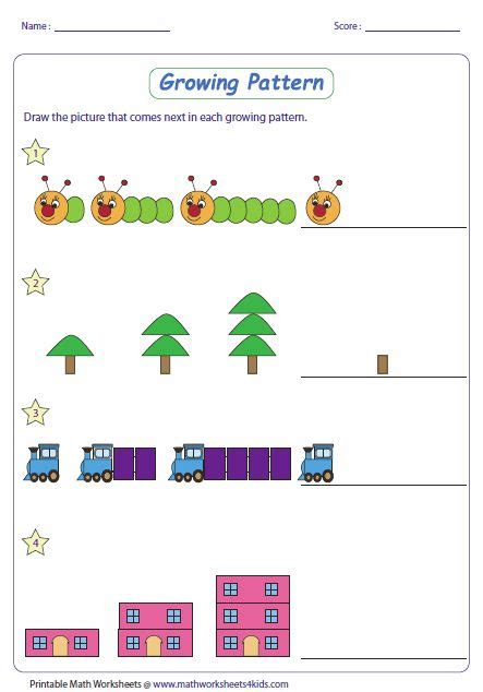 pattern rule for perimeters 25 best ideas about number patterns worksheets on