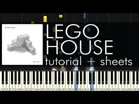 lego house tutorial guitar easy ed sheeran lego house piano tutorial sheets youtube