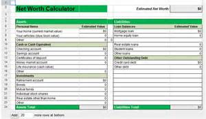 Calculate your household net worth mommysavers