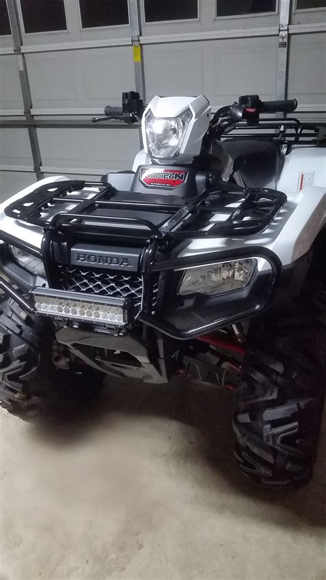 12 vs 14 rims honda foreman forums rubicon rincon rancher and 12 led light bar on 2016 rubicon honda atv forum