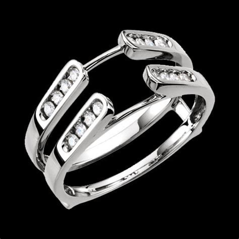 Channel Set Diamond Ring Guard
