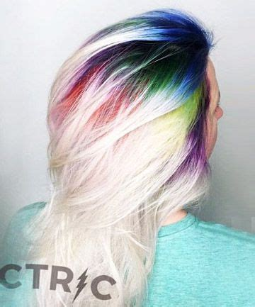 colored roots 25 best ideas about root color on