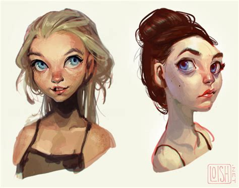 the art of loish digital art and process an interview with loish