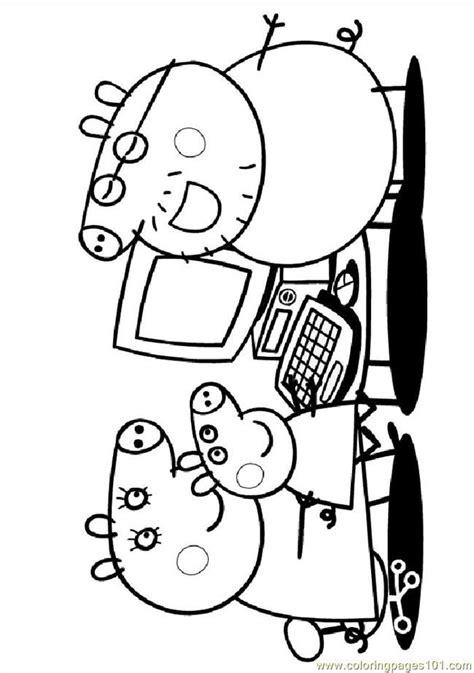peppa pig printable coloring pages coloring home peppa pig printables coloring home