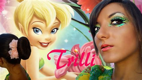 Pan Bell Mio trilli tinker bell canellino collaborazione disney make up hairstyle tutorial