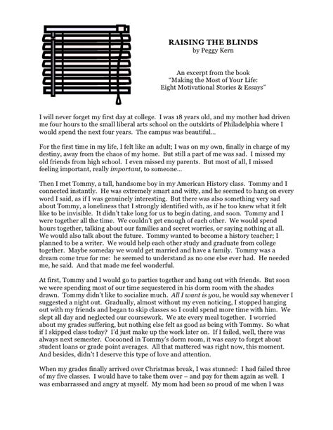 Sad Story Essay by Sad Story Essay