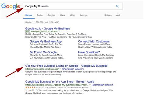 membuat google bisnis  google  page