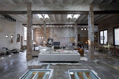 home interior warehouse trendhome printing factory loft by minim in barcelona