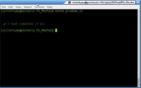 cadenas javascript substring mocha un nuevo sabor en pruebas unitarias de javascript