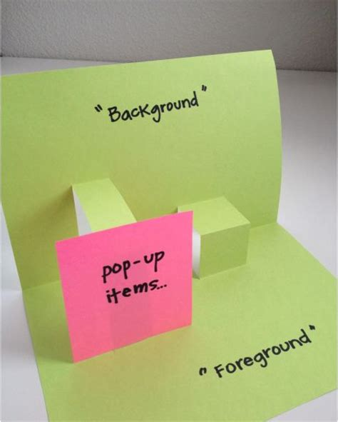 how to make your own pop up card 50 best foldables graphic organizers images on