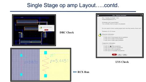 video op layout design of cmos operational amplifiers using cadence