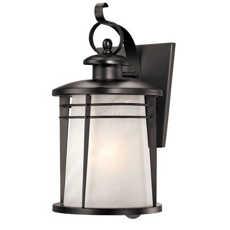 Home Depot Outdoor Wall Lighting Outdoor Wall Mounted Lighting Outdoor Lighting The Home Depot