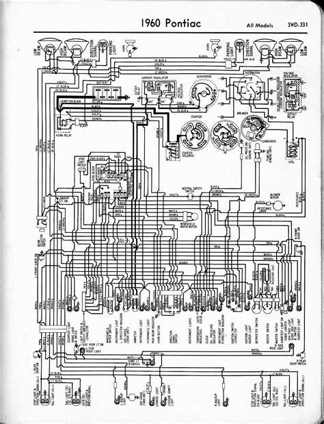 Pontiac wiring 1957-1965