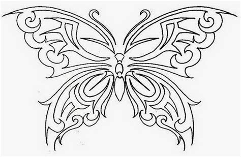 free butterfly tattoo designs to print free printable stencils design gallery ideas