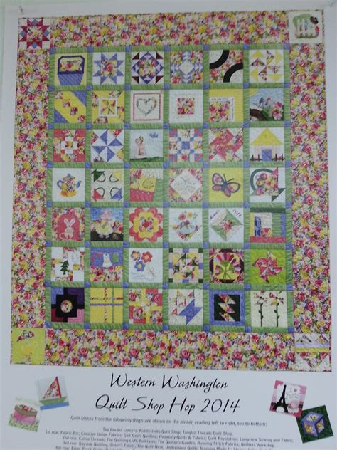 Quilt Hop by Shop Hop At Quilt Revolution Gig Harbor Wa Dragonfly Quilts