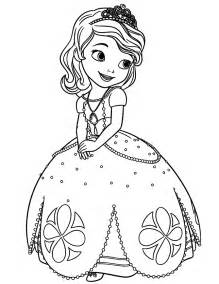 sofia the coloring page sofia the coloring pages to print
