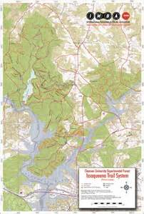 clemson cus map lake issaqueena clemson the best lake 2017