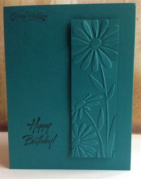 Handmade Sheet Greeting Cards - 25 unique embossed cards ideas on embossed