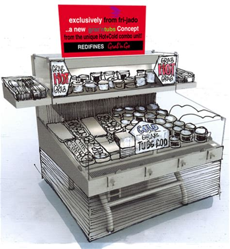 Cold Section In Kitchen by Grab N Go Redefined And Cold In One Unit