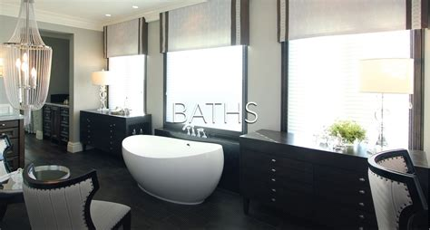 hamptons inspired luxury powder room robeson design