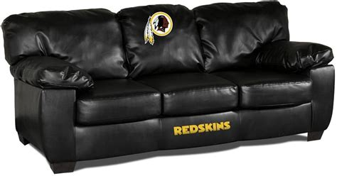 Redskins Recliner by Washington Redskins Leather Classic Sofa