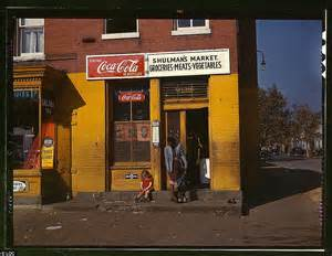 shop america main street in the 40s rare colour photographs capture