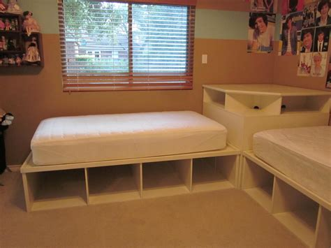 2 twin beds tween teen 2 twin beds pottery barn corner unit kids beds pinterest corner