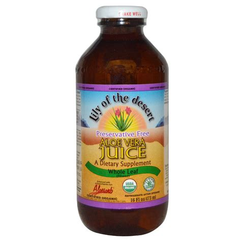 Of The Valley Aloe Detox Reviews by Of The Desert Organic Aloe Vera Juice Whole Leaf