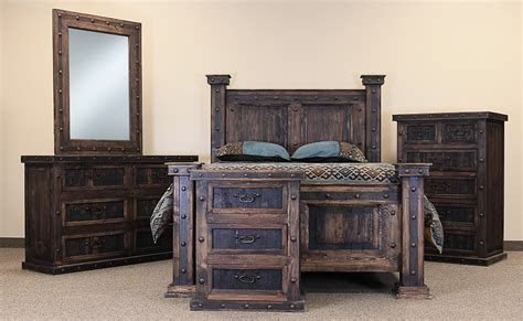 Rustic Bedroom Set - rustic bedroom set rustic bedroom furniture set wood bedroom set