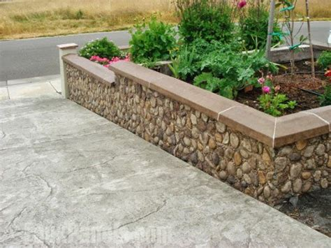 Design For Diy Retaining Wall Ideas Landscape Retaining Walls Ideas With Faux Brick Landscapes Pinterest Wall Ideas