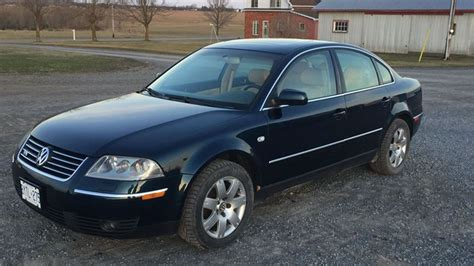 2004 Volkswagen Passat Reviews by Find Of The Week 2004 Volkswagen Passat W8 Autotrader Ca