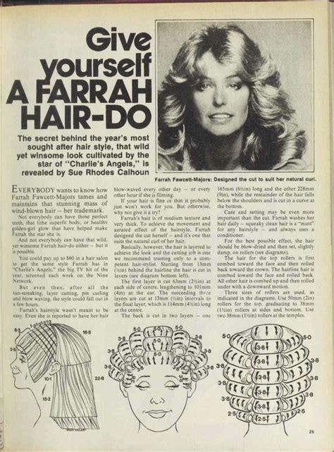 farrah fawcett hair cut instructions 25 best ideas about roller set on pinterest perm rods