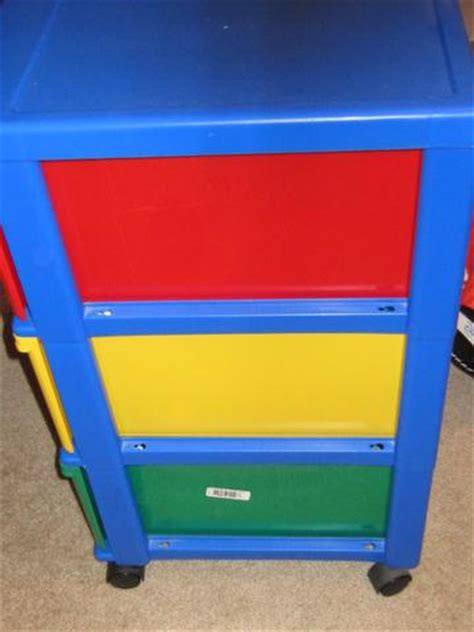 sterilite 3 drawer wide cart primary colors 3 drawer cart primary colors red yellow green on wheels