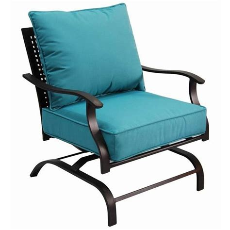 motion patio chairs garden treasures galway bay motion lounge chair