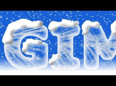 pattern photoshop ice gimp 2 8 tutorial ice text photography photo editing