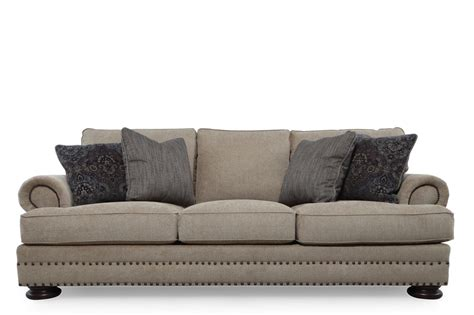 bernhardt foster brown sofa mathis brothers furniture