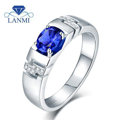 get cheap mens blue sapphire ring aliexpress